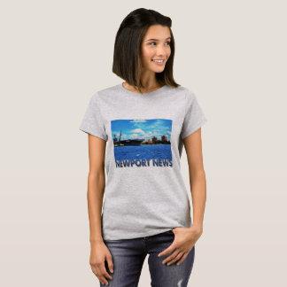 Noticias de Newport, VA Camiseta