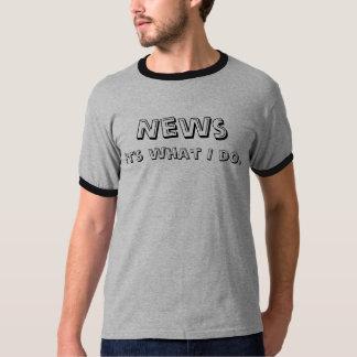 Noticias sus qué lo hago camiseta
