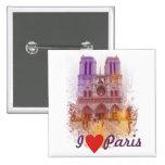 Notre Dame de Paris Chapa Cuadrada