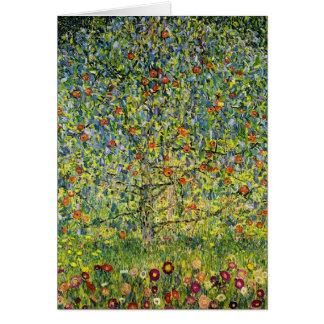 Nouveau del arte de la pintura de Gustavo Klimt el Tarjeta
