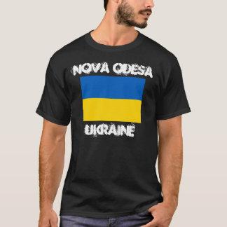Nova Odesa, Ucrania con la bandera ucraniana Camiseta