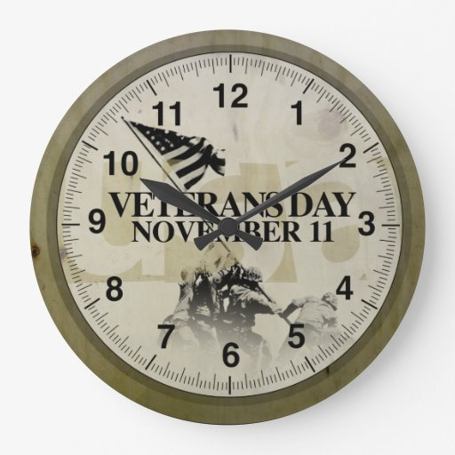 veterans_day-november_11-vintage_design_clock