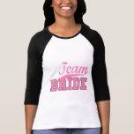 Novia 1 del equipo camisetas