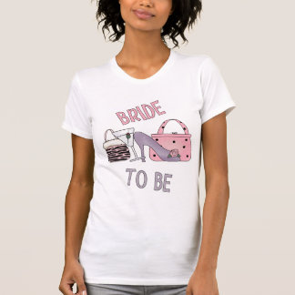 novia a ser el tanque camisetas