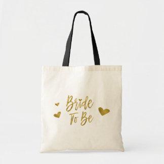 Novia a ser falso bolso del banquete de boda de la