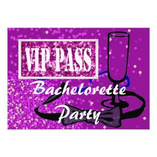 Novia de Bachelorette a ser invitación del fiesta