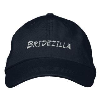 Novia de Bridezilla a ser gorra ajustable personal Gorra Bordada