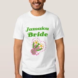 Novia de Jamaica Camisetas