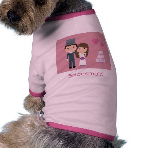 Novia del dibujo animado y suéter lindos del perro ropa de perro ...