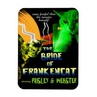 Novia del imán de Frankencat