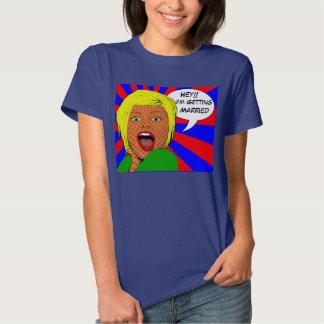 novia divertida a ser, bachelorette divertido camisetas