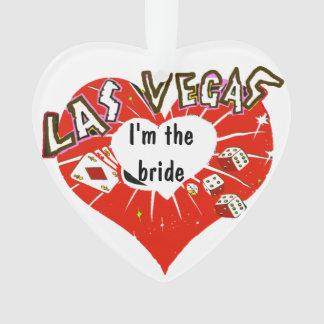 Novia Las Vegas de la tarjeta del día de San Valen