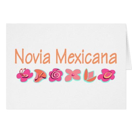 Novia Mexicana Felicitacion