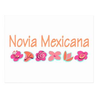 Novia Mexicana Postal
