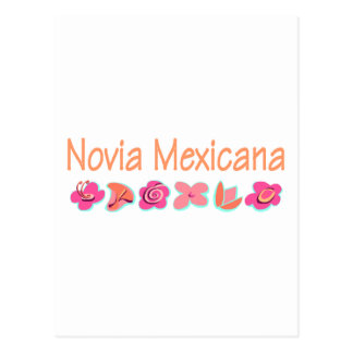 Novia Mexicana Tarjeta Postal