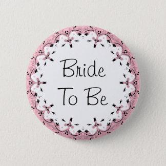 Novia para casar el botón nupcial del fiesta de