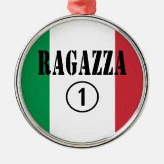 Novias italianas: Uno de Ragazza Numero Ornamento Para Arbol De Navidad