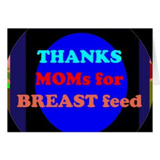 NOVINO agradece a la mamá por amamanta Tarjeta