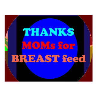 NOVINO agradece a la mamá por amamanta Postal