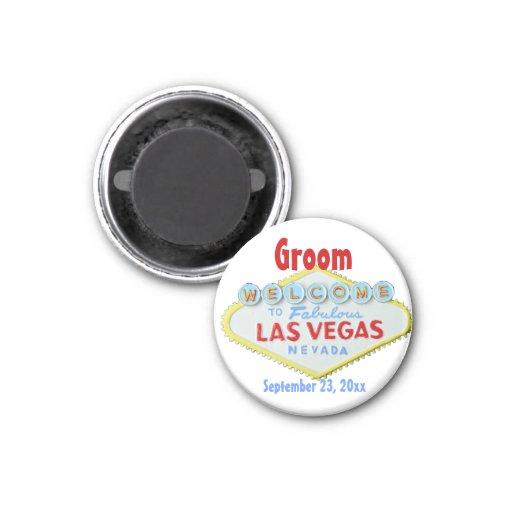 Novio de Las Vegas Iman Para Frigorífico