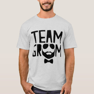Novio del equipo camiseta