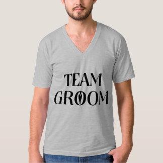 Novio del equipo - camiseta divertida de la
