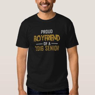 Novio orgulloso de un mayor 2016 camisetas