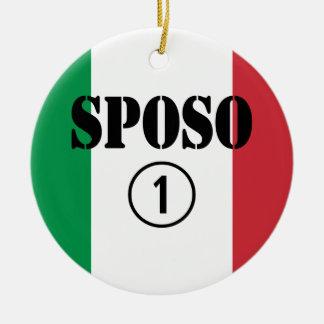 Novios del italiano: Uno de Sposo Numero Ornamentos De Reyes Magos