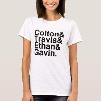 Novios del libro - Colton Travis Ethan Gavin Camiseta