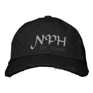 ¿NPH el casquillo de la leyenda - WWNPHD? Gorra Bordada