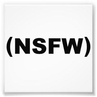 NSFW no seguro para el trabajo Foto