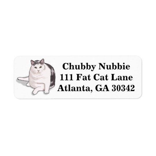 Nubbie las etiquetas de dirección Bobtail