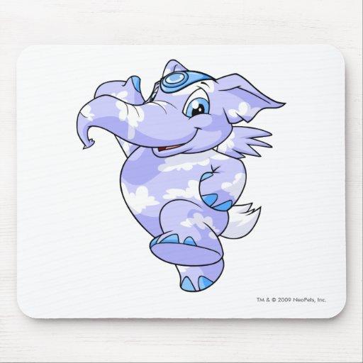 Nube de Elephante Alfombrilla De Ratones