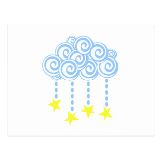 Nube de estrella postal