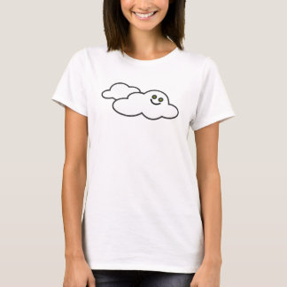 ¡Nube feliz! Camiseta