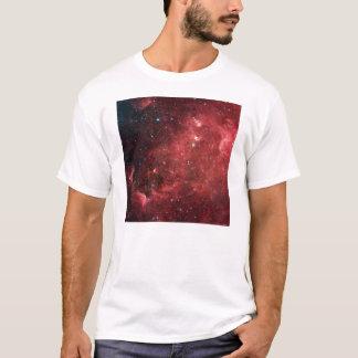 Nube roja camiseta