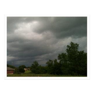 Nubes de tormenta postal