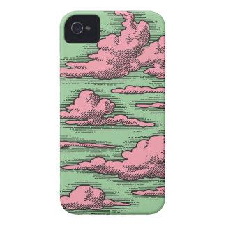 Nubes del vintage iPhone 4 fundas