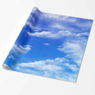 Nubes Papel De Regalo