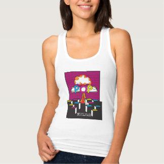 Nuclear Pop Tirantes Camiseta Con Tirantes