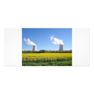 Nuclear power planta - Central nuclear Tarjetas Publicitarias