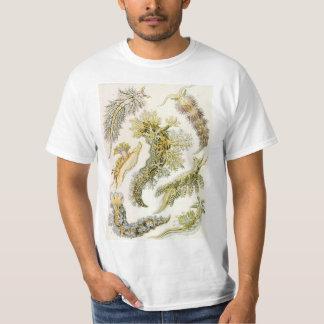 Nudibranchia del vintage, barras de mar de Ernst Camiseta