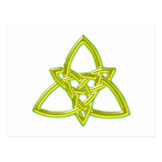 nudo celta celtic anudas postal