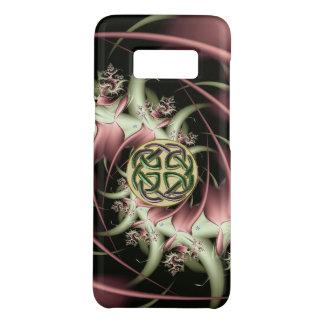 Nudo de bronce del Celtic del fractal del Funda De Case-Mate Para Samsung Galaxy S8