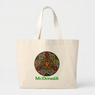 Nudo del Celtic de McDonald Bolsa Lienzo