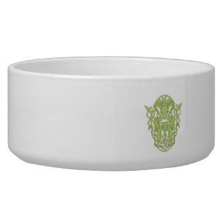 Nudo del Celtic del escudo de armas del árbol del Comedero Para Mascota