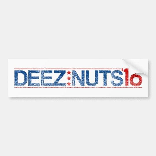 Nueces 2016 de Deez Pegatina Para Coche