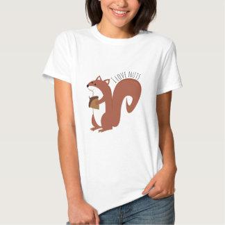 Nueces del amor camiseta