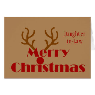 Nuera del navidad ninguna diversión de la música tarjeta de felicitación