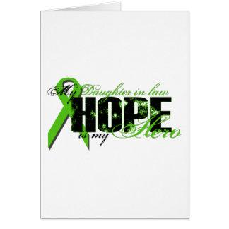 Nuera mi héroe - esperanza del linfoma tarjetas